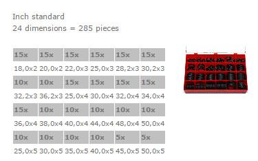 Assorted Boxes Profile - BOX D FKM