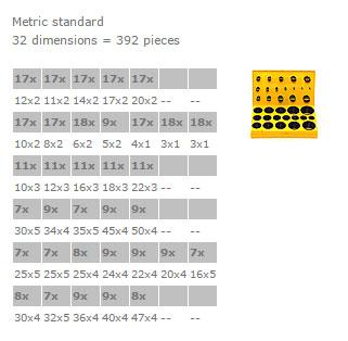 Assorted Boxes Profile - BOX L FKM
