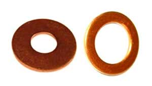COPPER DIN125 WASHERS