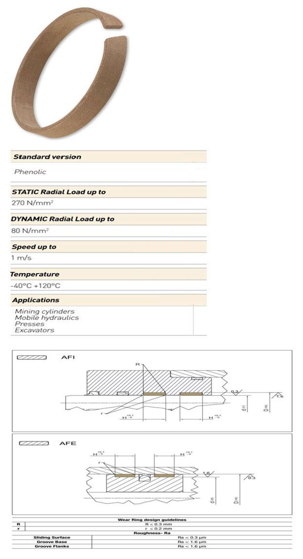 Guiding Elements Profile - AFI AFE