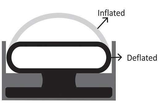 Inflatable Seals process