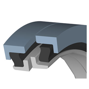Type DF - Sealrings withtrapezoid ring